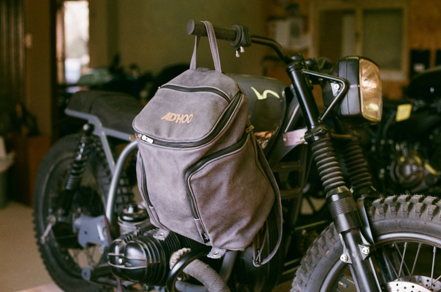 adhoc cafe racer ribags handcraft society